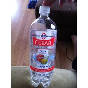 Clear American Sparkling Water Beverage Fuji Apple Pear