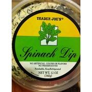 Trader Joe S Spinach Dip Calories Nutrition Analysis