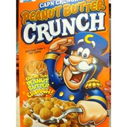 Cap'N Crunch Peanut Butter Crunch - Sweetened Corn & Oat Cereal. nutrition ...