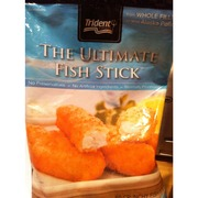 Trident fish sticks whole fillets of wild alaska pollock for Trident fish sticks