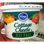 Kroger Cottage Cheese, Fat Free: Calories, Nutrition Analysis & More | Fooducate