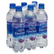 Aquafina Water Beverage, Grape Flavored: Calories, Nutrition Analysis & More | Fooducate