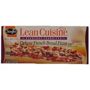 Lean cuisine pizza deluxe french bread calories for Are lean cuisine pizzas healthy