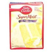 betty crocker cake mix pineapple calories nutrition analysis