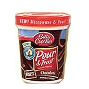 Betty Crocker Milk Chocolate Frosting Calories