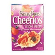 Cheerios Cereal, Triple Berry. nutrition ...