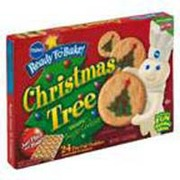 photo of pillsbury cookies sugar christmas tree shape