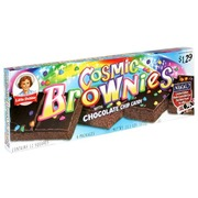 Little Debbie Cosmic Brownies With Chocolate Chip Is