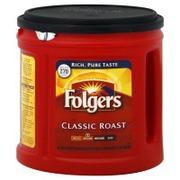Folgers Coffee Ground Classic Roast Medium