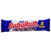 Baby Ruth Candy Bars, 8 Pack: Calories, Nutrition Analysis ...