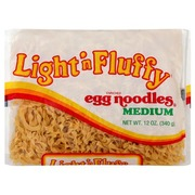 Light n' Fluffy Egg Noodles, Medium, Enriched: Calories, Nutrition ...