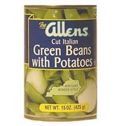 Allens Green Beans, Cut Italian, with