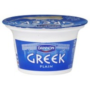 Dannon Oikos Greek Nonfat Yogurt Plain Calories Nutrition