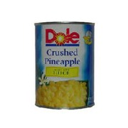 Dole Crushed Pineapple: Calories, Nutrition Analysis ...