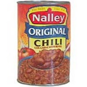 nalley original chili con carne with beans calories nutrition analysis more fooducate. Black Bedroom Furniture Sets. Home Design Ideas