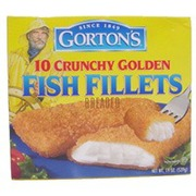 Gorton 39 s fish fillets crunchy breaded calories for Gortons fish sticks