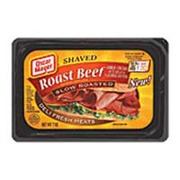 Oscar Mayer Roast Beef, Slow Roasted, Shaved: Calories, Nutrition Analysis & More Fooducate
