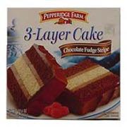 Pepperidge Farm Chocolate Fudge Stripe Layer Cake
