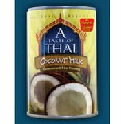A Taste Of Thai Coconut Milk a taste of thai coconut milk, unsweetened: calories, nutrition