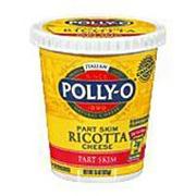 Polly O Ricotta Cheese Part Skim Calories Nutrition