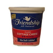 friendship cottage cheese lowfat no salt added calories rh fooducate com no salt cottage cheese minnesota cottage cheese without salt uk