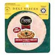 Empire Kosher Turkey Breast Smoked Deli Slices Calories Nutrition Analysis More Fooducate