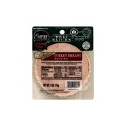 Empire Kosher Turkey Breast Deli Slices Calories Nutrition Analysis More Fooducate