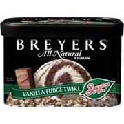 Breyers Chocolate Fudge Brownie Ice Cream