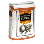 Calories in all purpose white flour
