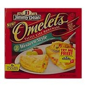 Jimmy Dean Omelets Western Style Calories Nutrition Analysis More Fooducate