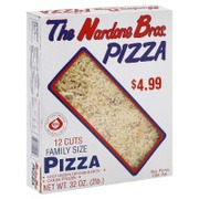 nardone bros pizza family size calories nutrition analysis more fooducate. Black Bedroom Furniture Sets. Home Design Ideas