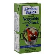 Kitchen Basics Vegetable Stock, Cooking, Original: Calories ...