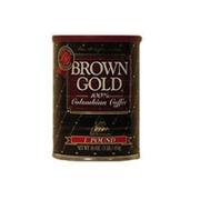 Brown Gold Colombian Coffee Medium Roast
