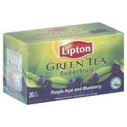 Lipton Green Tea Superfruit Purple Acai And Blueberry