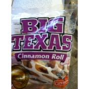 big texas cinnamon roll calories nutrition analysis more fooducate. Black Bedroom Furniture Sets. Home Design Ideas