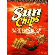 Sunchips Multigrain Snacks Garden Salsa Flavored Calories Nutrition Analysis More Fooducate