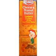 Keebler Sandwich Crackers Cheese Peanut Butter