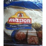 Mission Tortillas, Flour, Large: Calories, Nutrition