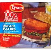 tyson sausage patties nutrition