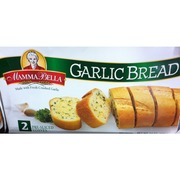 Mamma Bella Garlic Bread Homestyle 2 Pre Sliced Loaves Calories Nutrition Analysis More Fooducate