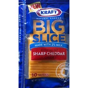 kraft cheese slices nutrition