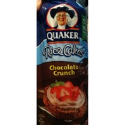 Photo of Quaker Rice Cakes  Chocolate CrunchQuaker Rice Cakes Ingredient List