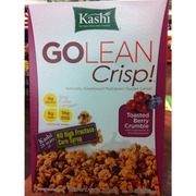 Kashi Cereal, Toasted Berry Crumble: Calories, Nutrition Analysis & More | Fooducate