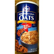 Kroger Old Fashioned Oats Nutrition