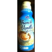 Kroger Coffee Creamer Lactose Free Fat French Vanilla