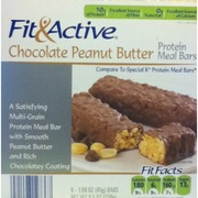 Fit And Active Protein Meal Bar Chocolate Peanut Butter