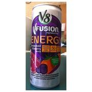 V8 Energy Review >> V8 V Fusion Beverage Energy Pomegranate Blueberry Flavored