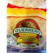 Guerrero Tortillas Flour Soft Taco Calories Nutrition Analysis More Fooducate