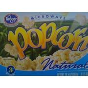 Kroger Microwave Popcorn Natural Nutrition