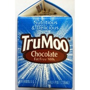 Trumoo Fat Free Chocolate Milk Calories Nutrition